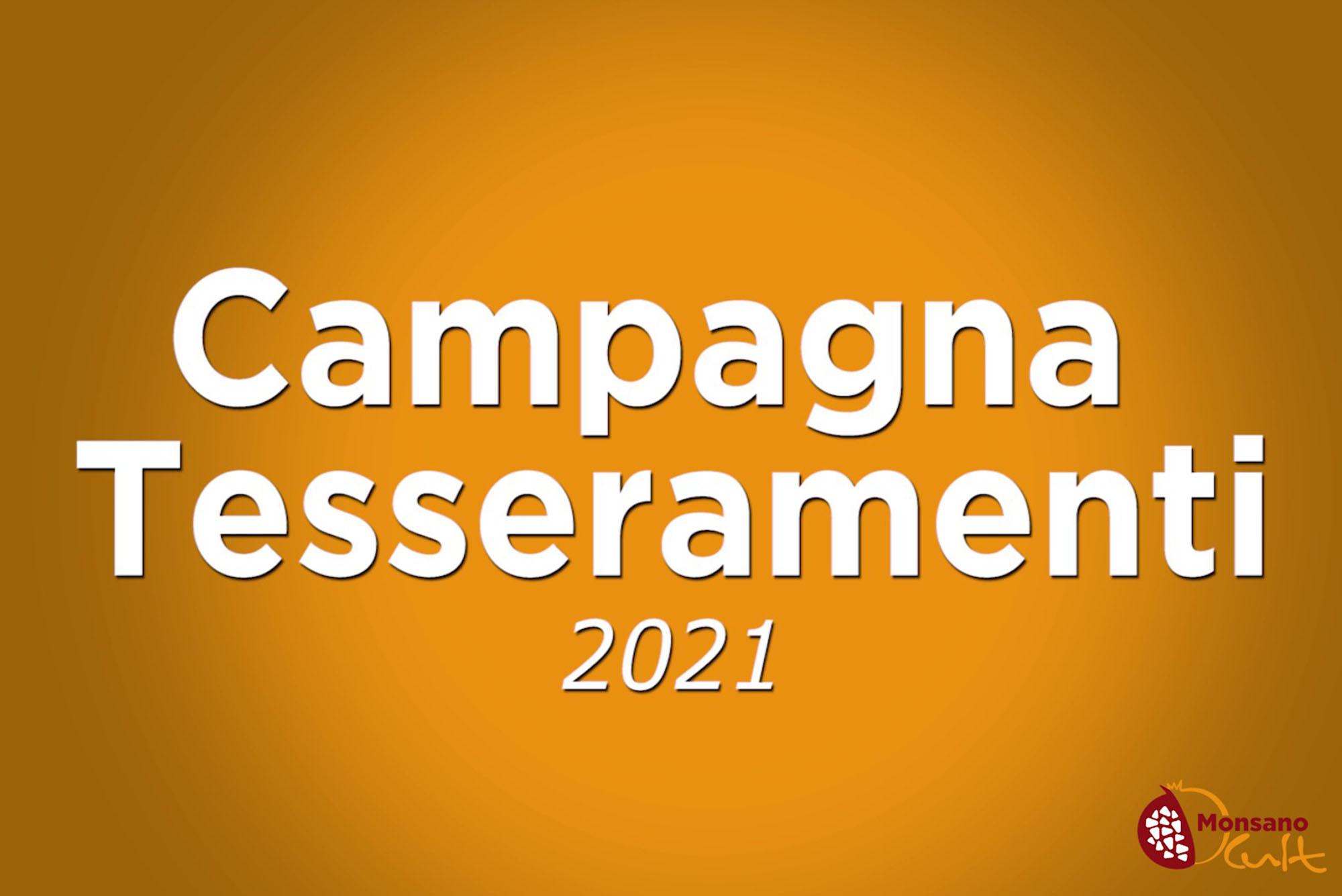 Campagna Tesseramenti 2021!