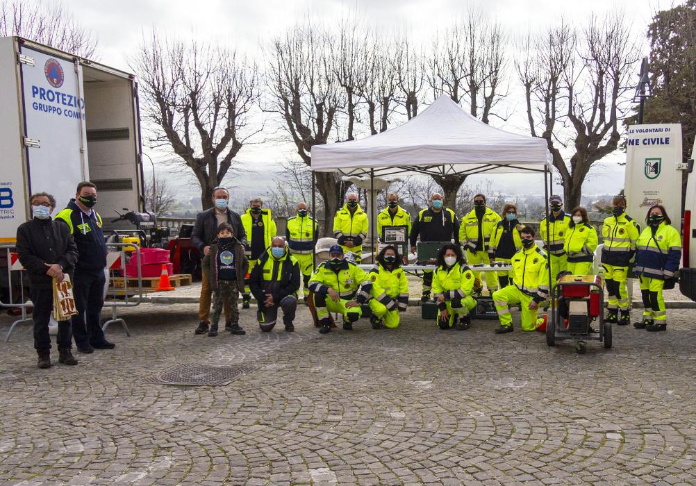 ALBUM Volontari in piazza!